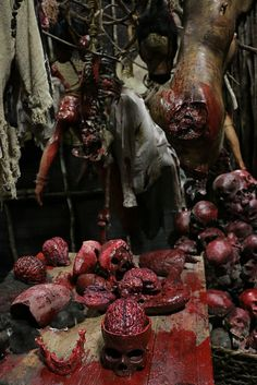 Idea Slaughter House Room Haunted Props Ideas