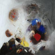 Edmondo Bacci, Event #247, 1956. Oil with sand on canvas, 55 3/16 x 55 1/8 inches (140.2 x 140 cm)