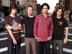 The All-American Rejects.       -------      http://www.allamericanrejects.com       http://www.myspace.com/allamericanrejects