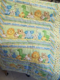 quilt for a friend. It's a boy.