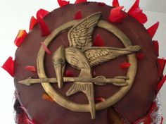 hunger games cake tutorial with video http://howtocookthat.net