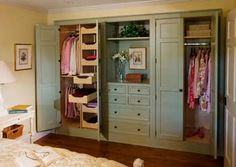 Great closet storage idea-- could we get tall doors for our closets?