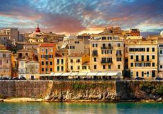 World Heritage Sites - Corfu - Pictures, Images & Photos - - Images Greek Island Tours, Best Greek Islands, Greece Islands, Corfu Holidays, Greece Holidays, Island Holidays, Travel Around The World, Around The Worlds, Corfu Town