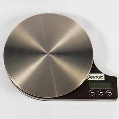 $89.900 Balanza Digital de Cocina en Acero Inoxidable con Capacidad de 5Kg. Logo, Stainless Steel, Logos, Logo Type