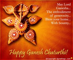 Dgreetings    May Lord Ganesha bless you and your family...