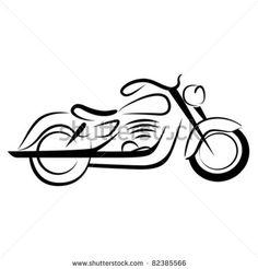 chopper motorcycle by sabri deniz kizil, via ShutterStock