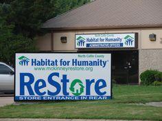 Restore for Habitat for Humanity in McKinney, Texas.