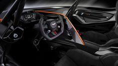 Aston Martin Vulcan - mission control