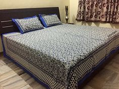 Handcrafted Rajasthani Print 100% Cotton Double Bed Sheet... http://www.amazon.in/dp/B01MU2Y86O/ref=cm_sw_r_pi_dp_x_f4Lxyb07X2V9P