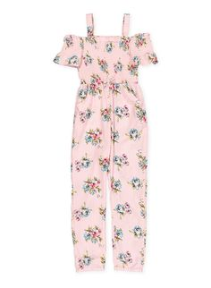 1cc32a1272a51 Girls 7-16 IZ Amy Byer Off-the-Shoulder Jumpsuit | Cute clothes in ...