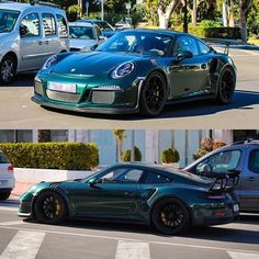 Presenting the first and only known PTS Porsche Racing Green 991 GT3 RS, spotted in Puerto Banus in Marbella, Spain! The owner also has a 918 Spyder Weissach Package in the same color! Absolutely green with envy! : @educf_photography (Top) & @marbellaphotocars (Bottom) | Follow @ptsrs and join the #ptsrs movement for the latest on the newest #painttosample Porsche 991 GT3 RS's! | #porsche #911 #991 #porsche911 #porsche991 #gt3 #gt3rs #911gt3 #911gt3rs #991gt3 #991gt3rs #britishracinggreen…