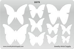 Butterflies Template