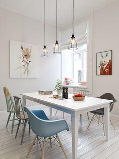 NA, nuevo apartamento de estilo escandinavo por Kitchen Interior, Kitchen Decor, Nice Kitchen, Style At Home, Interior Styling, Interior Design, Two Bedroom Apartments, New Kitchen Cabinets, Scandinavian Interior