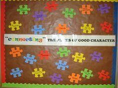 pillars of character bulletin board ideas | Elementary Counseling Blog: Bulletin Boards