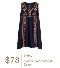 I absolutely LOVE THIS DRESS!!!! It is such a fun boho pattern and I love everything about it. Would love it in a fix!