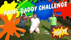 Hi Everybody  This afternoon Elliott and I had a really funny challenge of 3 minutes to paint as much of our daddy as we liked. How much did we get done and how do we help daddy get all the paint off?  We shall see!!!!  Please Like, Share and subscribe to our channel T&E TV on YouTube at https://www.youtube.com/channel/UCfFV...  Please don't forget to watch our other videos and comment on our videos as well as would really like to hear back from everyone.  Thomas and Elliott T&E TV