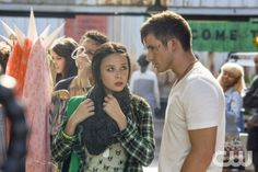 "Star Crossed -- ""Our Toll Shall Strive to Mend"" --  Image Number: STA103a_1090.jpg -- Pictured (L-R): Malese Jow as Julia and Matt Lanter as Roman -- Photo: Skip Bolen/The CW -- © 2013 The CW Network, LLC. All rights reserved."
