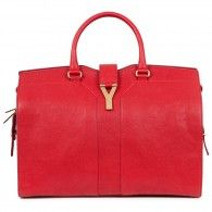 Yves Saint Laurent - Chyc large grained leather tote
