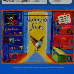 If you love Skippyjon Jones you will want to go this website!