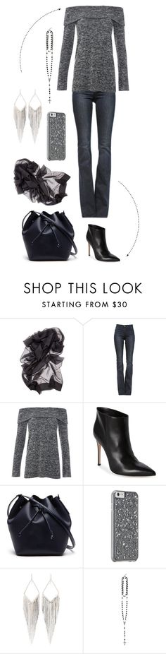 """Blind Date"" by onecrystal ❤ liked on Polyvore featuring Frame Denim, Gianvito Rossi, Lacoste, Jules Smith and Givenchy"