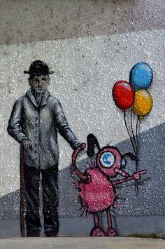 Street Art in Zurich, Switzerland