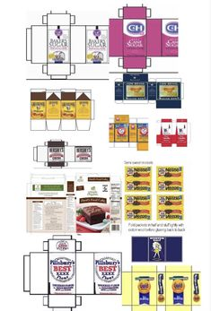 Is anyone else tired of outdated grocery Printables? I know I am, so here is the new ultimate list consisting of only modern grocery printables from brands we can all actually recognize! Diy Doll Miniatures, Dollhouse Miniature Tutorials, Miniature Crafts, Diy Dollhouse, Miniature Food, Barbie Dolls Diy, Barbie Food, Doll Food, Barbie Clothes