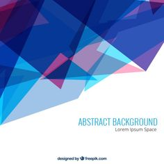 Abstract triangles background Free Vector