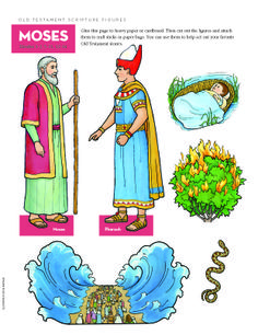 Old Testament scripture figures--Moses
