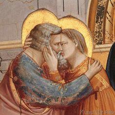 Giotto di Bondone - Die Begegnung Joachims und Annas an der Goldenen Pforte