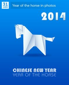 Jan 31 - Chinese New Year - Year of the Horse