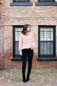 Blush Pink Sweater -
