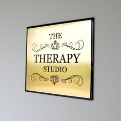 Executive Personalised Office Wall Sign, Custom Engraved , Plaque, Shop Name