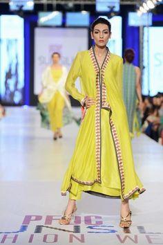 Nida Azwer Summer Collection At PFDC Sunsilk Fashion Week 2013