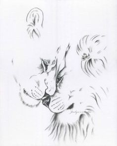 Charcoal Lion Drawing Print Lion Sketch 8 Lion Art Charcoal Drawing Lion Charcoal Sketch Lioness Lion Lion Love Lions Art This is an 810 giclee print from my origin. Tattoo Sketches, Tattoo Drawings, Drawing Sketches, Drawing Tips, Drawing Ideas, 3d Drawings, Animal Drawings, Lion And Lioness Tattoo, Lion Sketch