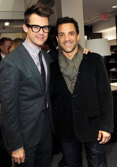 Brad Goreski and George Kotslopoulos- Vanity Fair LA Event
