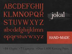 Jokal Font by seanwes