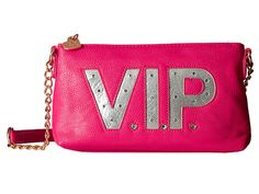 Betsey Johnson Kitch Light Up Crossbody Vip Fuchsia - 6pm.com