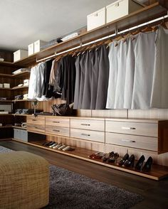 Explore the best of luxury closet design in a selection curated by Boca do Lobo to inspire interior designers looking to finish their projects. Discover unique walk-in closet setups by the best furniture makers out there Walk In Closet Design, Bedroom Closet Design, Master Bedroom Closet, Best Wardrobe Designs, Closet Designs, Wardrobe Ideas, Dressing Room Closet, Dressing Room Design, Dressing Rooms