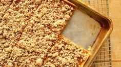 A crowd-size version of classic pumpkin pie, updated with a quick sugar cookie streusel topping! A crowd-size version of classic pumpkin pie, updated with a quick sugar cookie streusel topping! Pumpkin Pie Mix, Pumpkin Dessert, Pie Dessert, Dessert Ideas, Dessert Recipes, Easy Desserts, Pumpkin Carving, Pumpkin Recipes, Pie Recipes