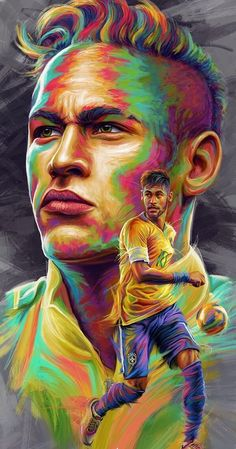 Drawing with Pencil: Neymar Jr in Cool Drawings for Coloring World Cup 2 . Best Football Players, Football Love, Football Art, Nike Football, Soccer Players, Neymar Jr, Neymar Football, Messi Soccer, Neymar Wallpapers