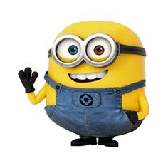Despicable Me - Bob is a short, plump, and bald Minion with multi-colored eyes (green and brown). Bob is a mischievous minion who will do anything, even lighting a bomb, to get attention. He has a more childlike personality than others and loves to annoy people.