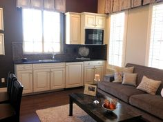 guest suite with kitchenette