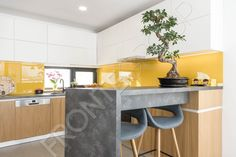 Corners for two. In the kitchen. Bar, Minimalism, Kitchen Design, Vanilla, Modern, Table, Furniture, Home Decor, Trendy Tree