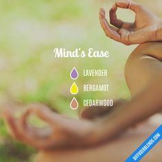 Mind's Ease — Essential Oil Diffuser Blend