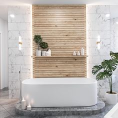 5 Ways to Create a Luxurious Modern Bathroom Design - Your bathroom is the space that deserve a little luxury. Check out these luxurious modern bathroom design ideas for your bathroom remodel inspirations. Spa Bathroom Design, Bathroom Spa, Wood Bathroom, Bathroom Styling, Bathroom Furniture, Bathroom Ideas, Bathroom Green, Bathroom Plants, Antique Furniture