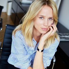 Hair Color Forum: Let's Talk About Going Blond Elin Kling, One Clothing, Clothing Labels, Pretty Hairstyles, Easy Hairstyles, Swedish Blonde, Street Chic, Street Style, Colored Hair Tips