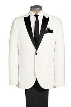 New Ivory Groom Tuxedo Suit ( jacket+Pants+tie)