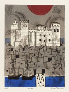 Julian Trevelyan 'Avignon', 1972 © The estate of Julian Trevelyan