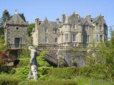 Torosay Castle, Isle of Mull: #monogramsvacation