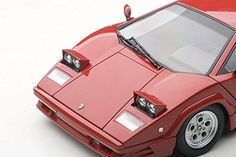 AUTOart 1/18 Lamborghini Countach 25th Anniversary (Red) | Die Cast Model Cars